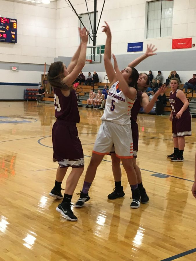 Lady Pioneers Fall to Maroons in First Game