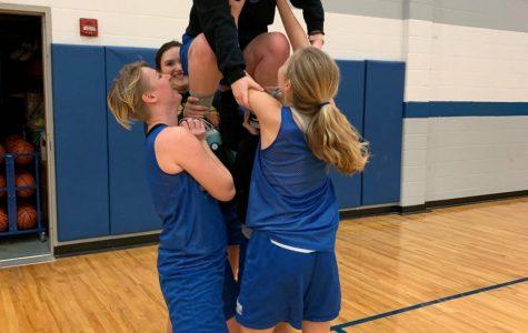 Girls Basketball Practice 1/22/2019