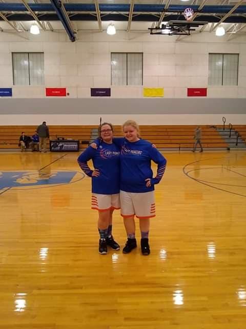 Girls basketball Against Cumberland Pirates
