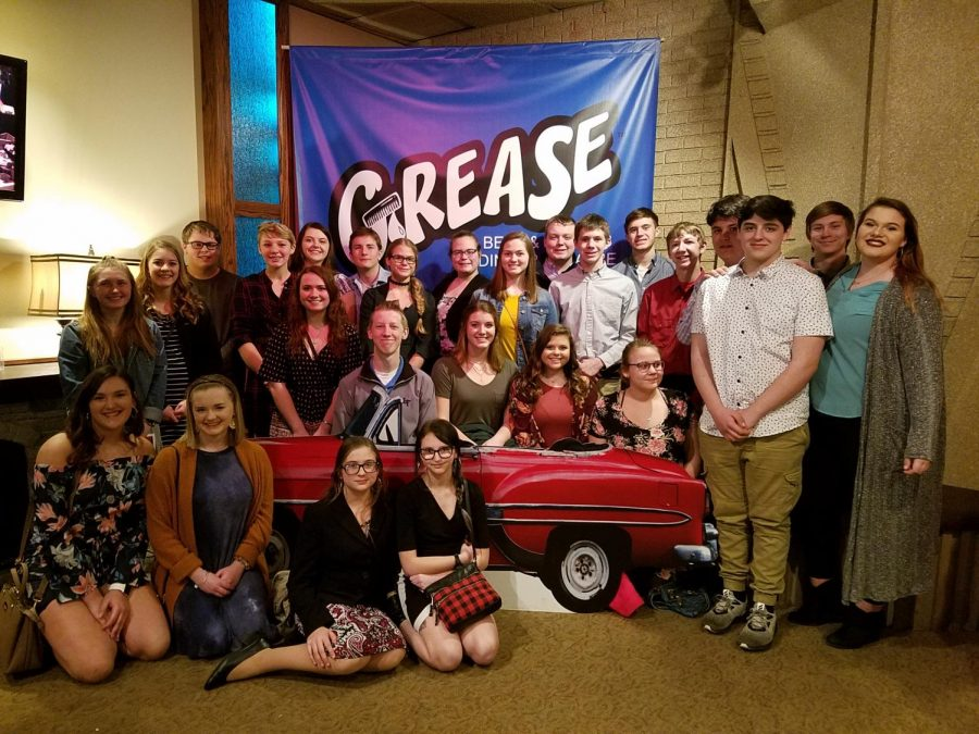 Drama+Club+members+and+guests+attended+the+Beef+and+Boards%27s+production+of+Grease+Saturday%2C+March+23%2C+in+Indianapolis.