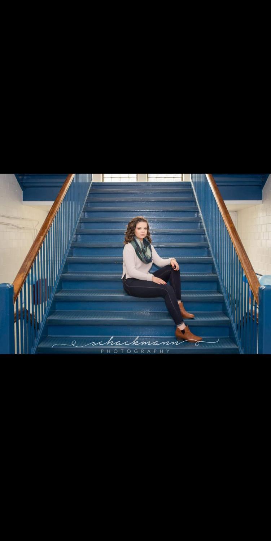This week's senior spotlight is Chloe Adams.