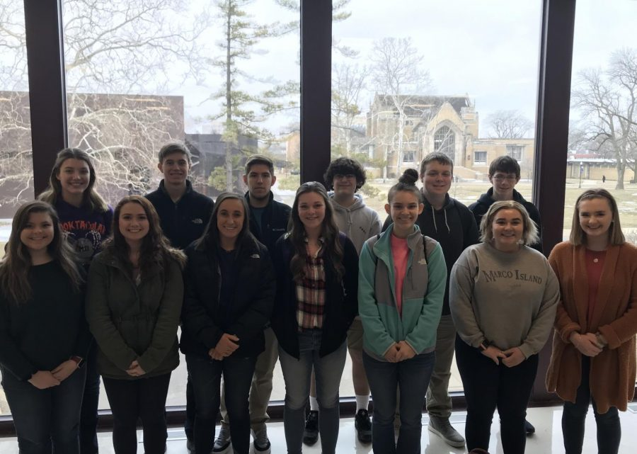 WYSE team at EIU for Academic Challenge Sectionals