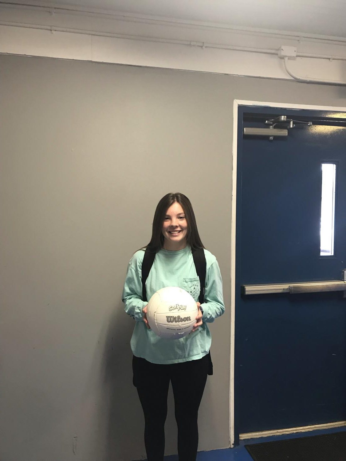 Jayden Nantz is the newest and only girls' volleyball player on the 2020 Lady Tigers volleyball team.
