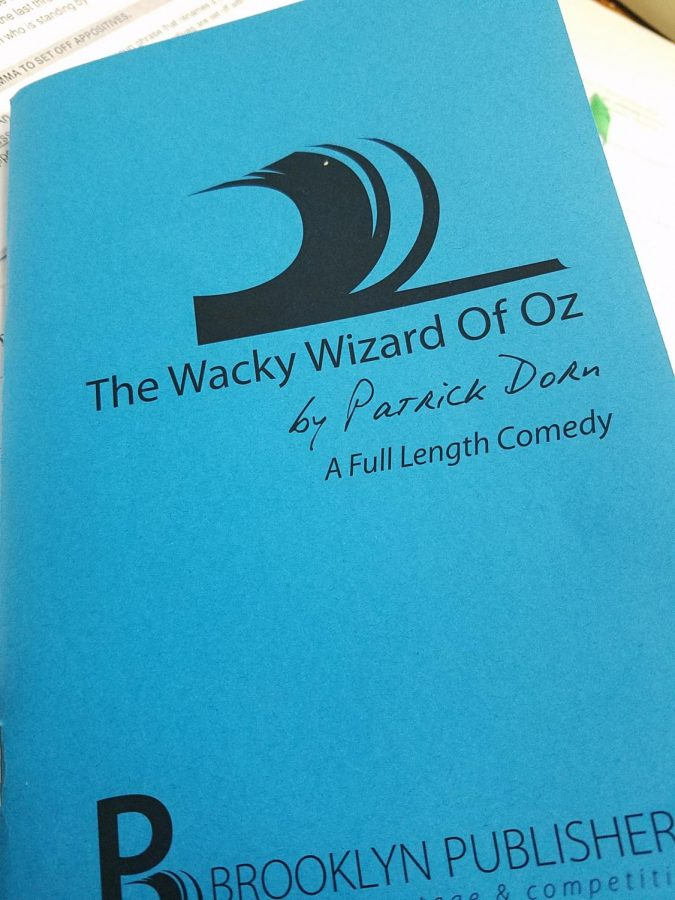 Drama Club's fall production on Friday and Saturday, November 22 and 23, will be