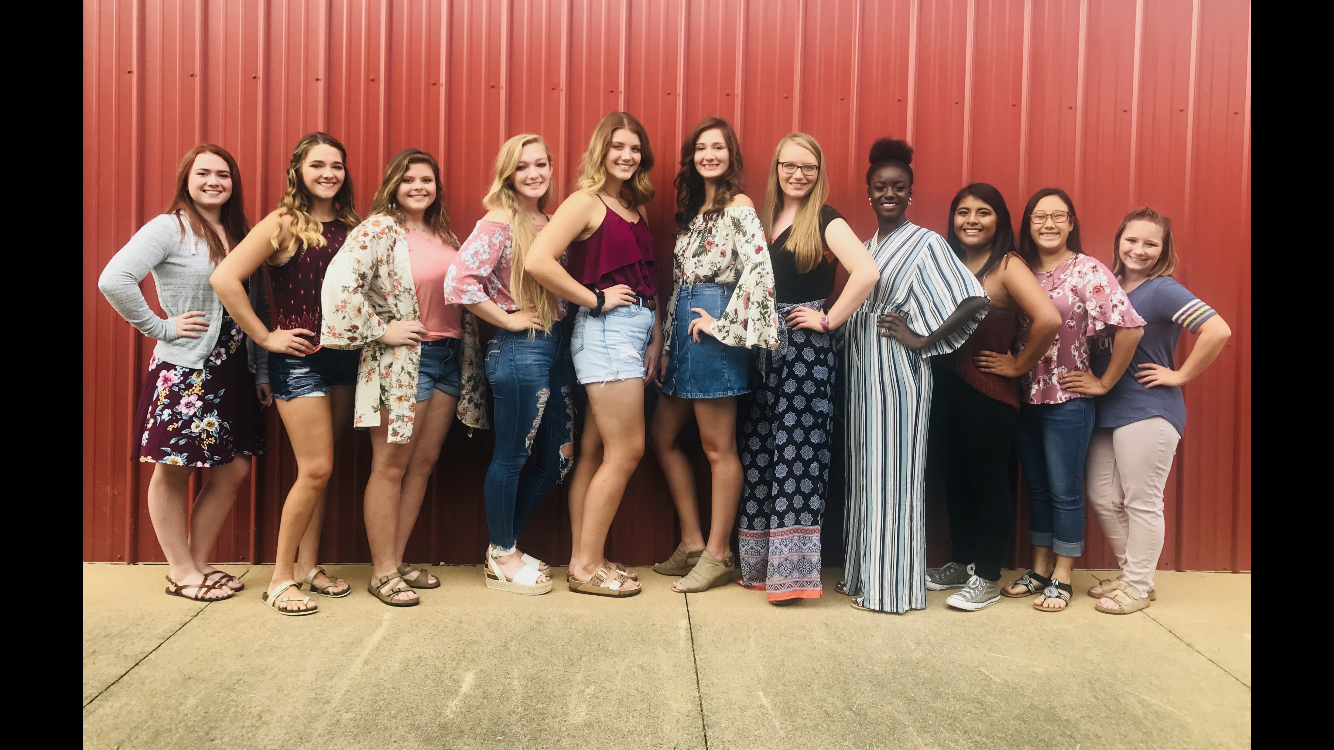 Contestants for the 2019 Miss Labor Day Pageant.