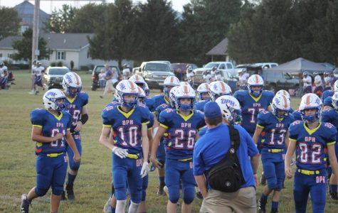 OPH takes a grilling defeat during Palestine Homecoming game