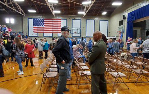 Veterans day program at PHS