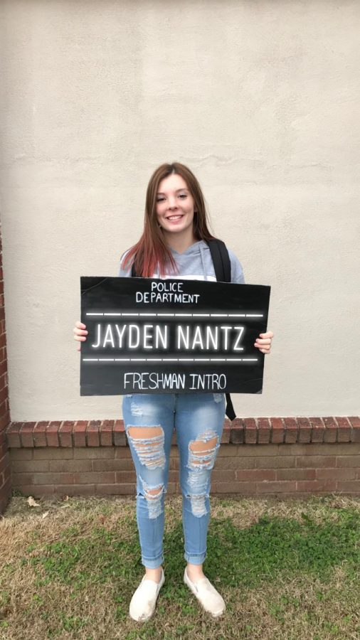 Freshman Introduction: Jayden Nantz