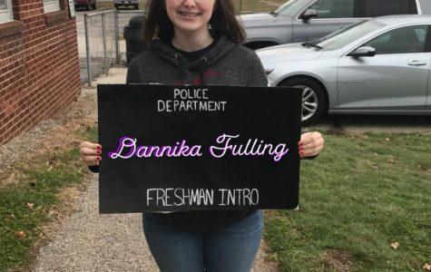 Freshman Introduction: Dannika Fulling