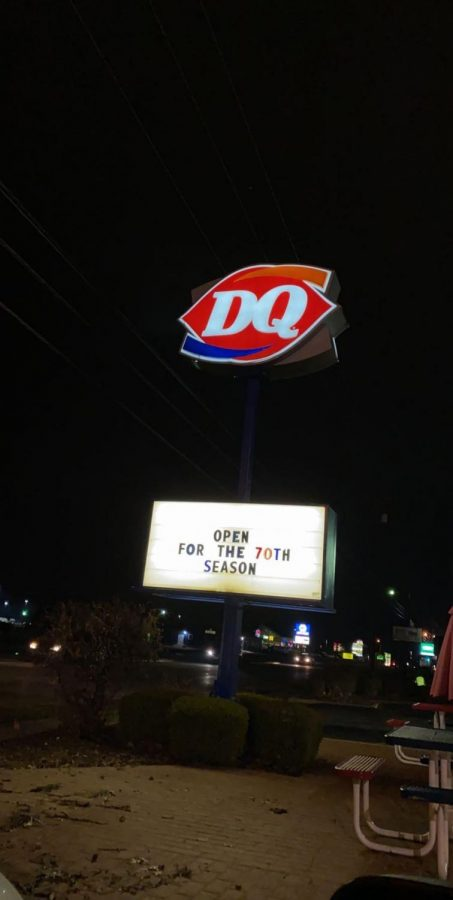 Oops! Dairy Queen soon realized they were actually open for their 60th season.