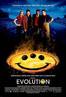 Movie Review:  Evolution (2001 film)