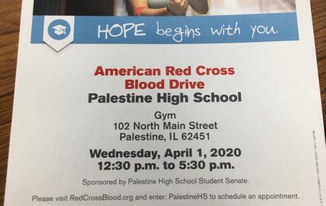 April 1st Blood Drive At PHS