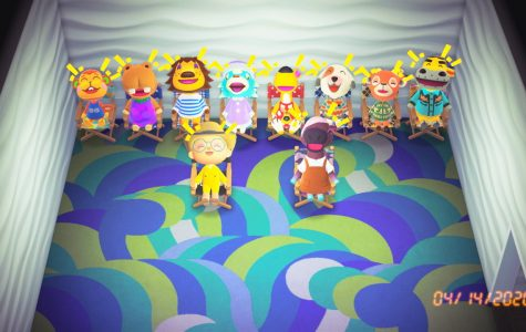 My villagers and I having good laugh