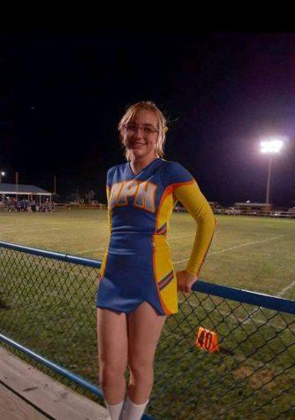 Senior Football Cheerleader Spotlight- Katie Lanham