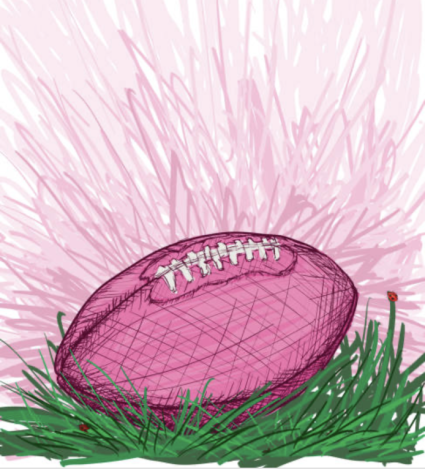 Pink out football